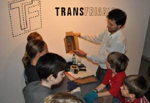Patrick Beaulieu au Musée de Lachine