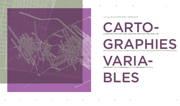 Cartographies Variables