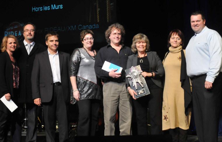 Hors les Murs remporte le Prix RIDEAU/XM Canada Initiative 2011