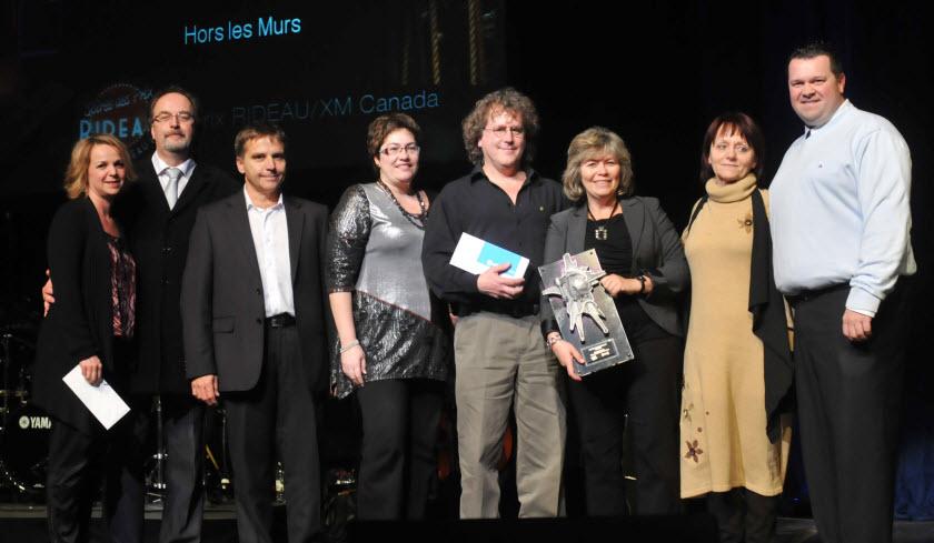 Hors les Murs - Prix RIDEAU/XM Canada Initiative 2011