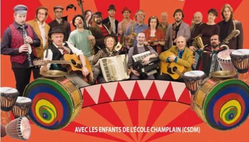 Bal de l'Avenir 2011 - Fanfare Pourpour