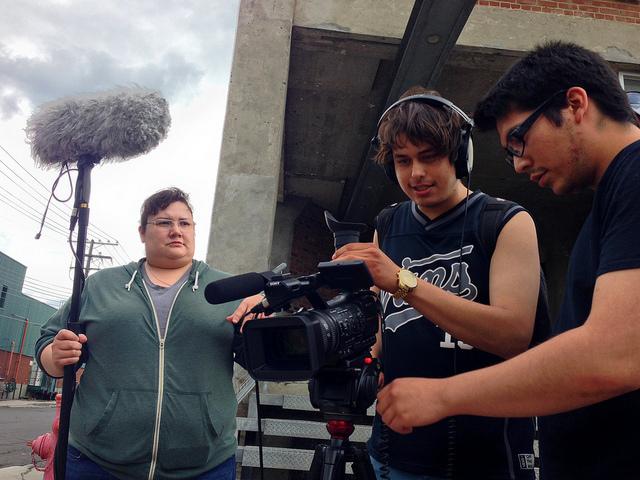 Atelier tournage Amanda Roy - Joey Rupert House - Emilio Wawatie Crédit: Wapikoni mobile