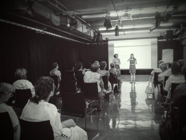 Atelier avec Dulcinee Langfelder & Cie